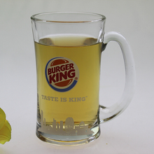 Wholesale 285ml cylinder japanese clear custom funny fancy cup mug cheap steins mug beer glass