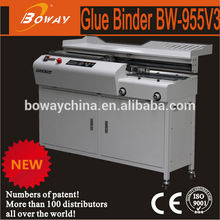 Boway 955V3 Side and back glue can be mixed copy shop binding machine