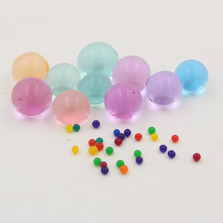 children toys water gel beads colorful crystal soil 2-2.5mm crystal soil