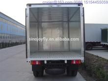 tipping body truck refrigerated trailer body