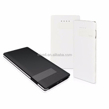 Patent EVEWHER powerbank 10000mah power banks with built-in charging cable lithium polymer battery