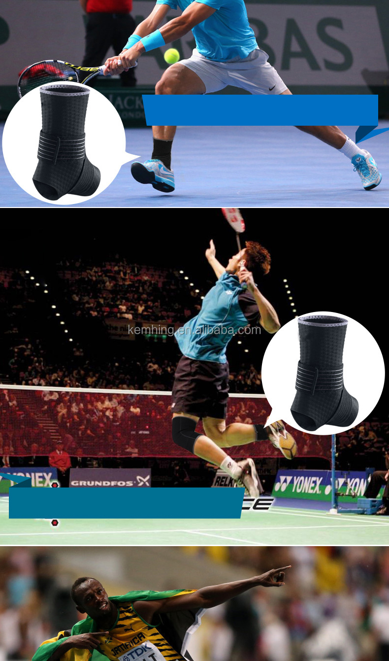 Outdoor traning Sports ankle straps protector neoprene ankle sleeve brace shoes