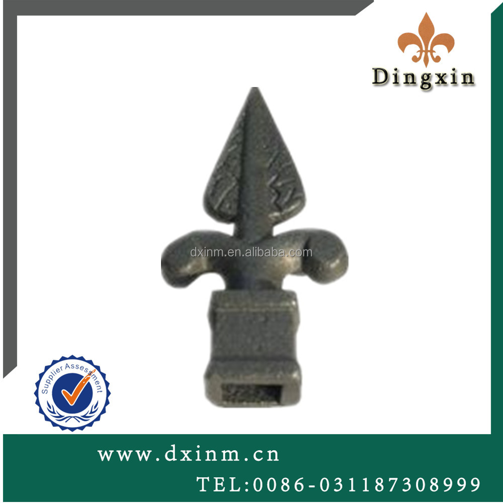The ornamental cast iron fence finials and cast iron fence panels used cast iron for sale