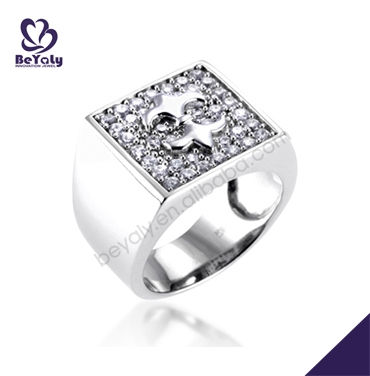 Wholesale fashion cz high quality jewelry rings exotic
