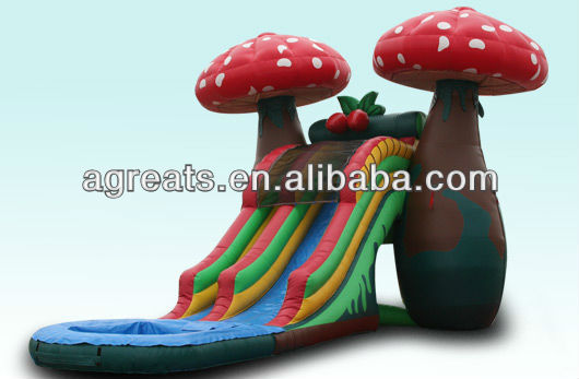 2013 new design inflatable water slide cheap price G4018