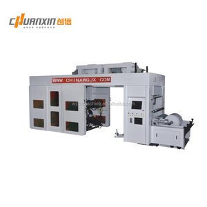 FOUR COLORS FLEXOGRAPHY PRINTING MACHINES