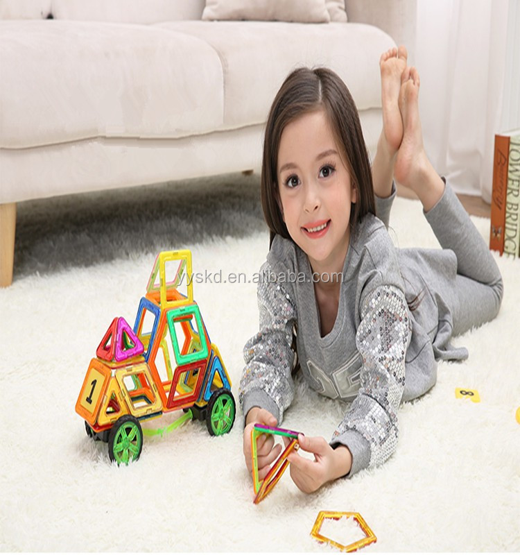 Factory direct sell magnetic building blocks toys all types shapes