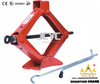 car lifting scissor jack with wheels
