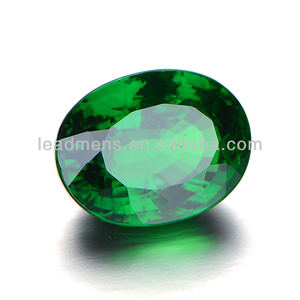 Emerald Oval-shaped Cubic Zirconia Gemstone cz stone rough loose beads European brilliant cut LeadMens quality goods