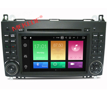 8 core HD 1024*600 7 inch touch screen car android 6.0 player for Mercedes-Benz B200
