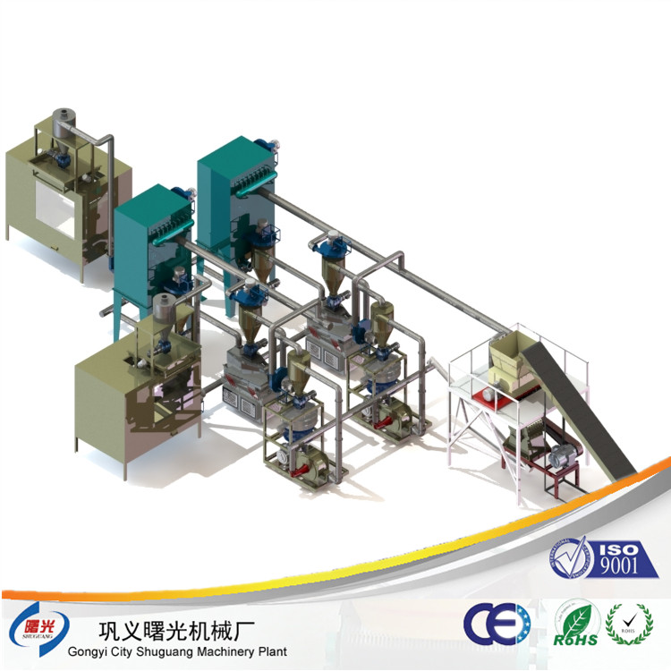 electronic waste PCB recycling machine