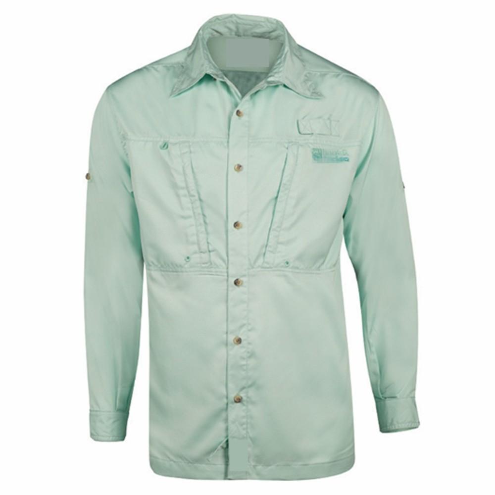 Custom men 39 s breathable uv protection fishing shirt buy for Uv fishing shirts