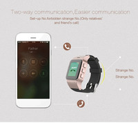 new products gps tracker waterproof bluetooth sos android mobile watch phone smart watch for old man