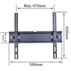 "Tilt 15 degree LCD LED TV Wall Mount Bracket for 40"" to 65""inch LCD LED Plasma Television"