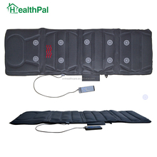 10 motors full body relif vibration massage mattress with heat