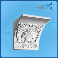 Upscale Paintable Hand Carved Decorative Plaster Corbels