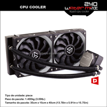 Alseye AA0241 manufacture 240 pc cooler 120mm fans pc water cooling