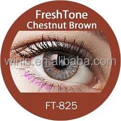 freshtone impressions contact lenses chestnut brown