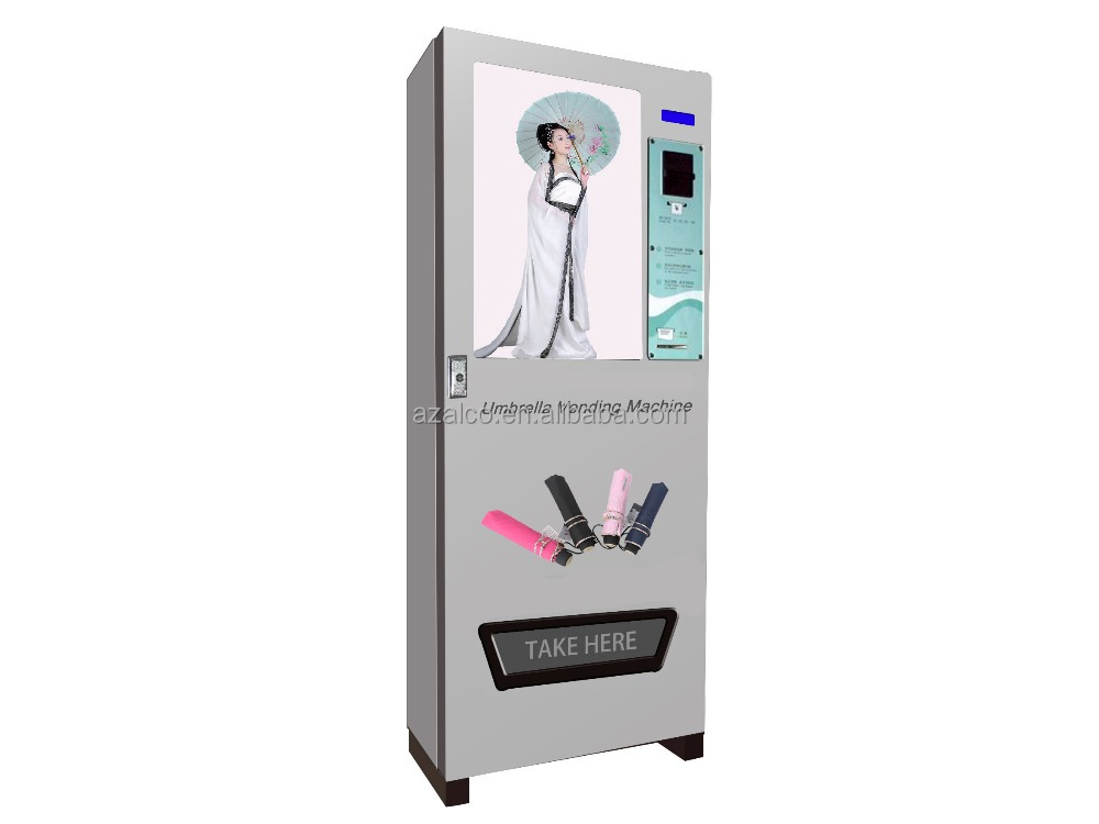OEM rental umbrella vending machine with RFID card
