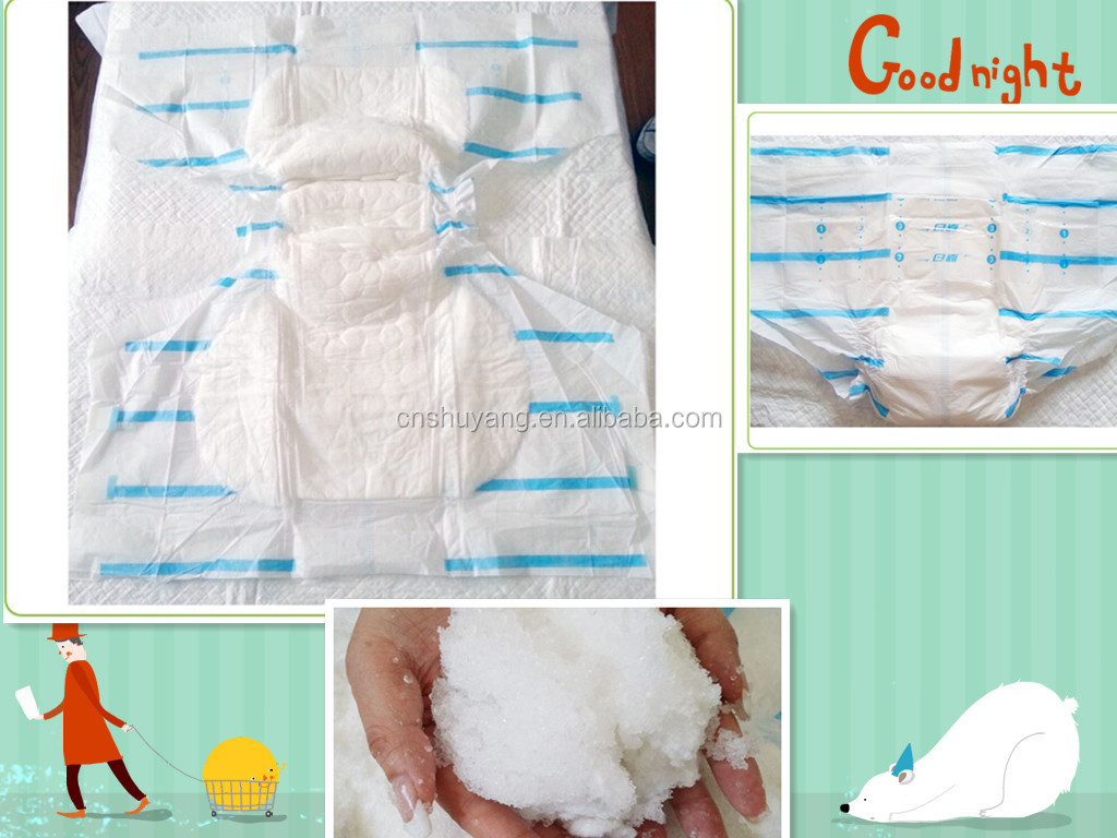super soft breathable disposable adult baby style diapers