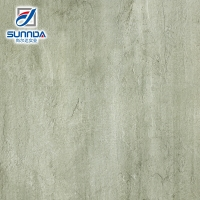 Sunnda green stone look rectified a rough surface floor tile