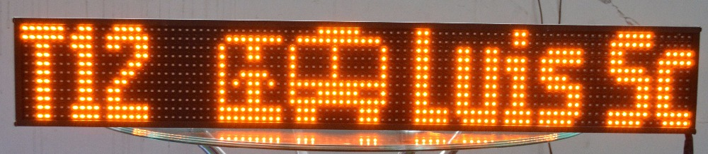 display led module bus led display screens Programmable Led Sign for bus