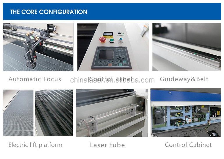 hot sale 2016 new style LC1390 g.weike laser cutting machine