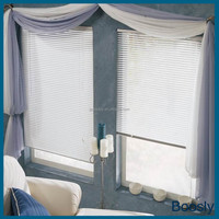 hollow electric blinds/glass partition curtains