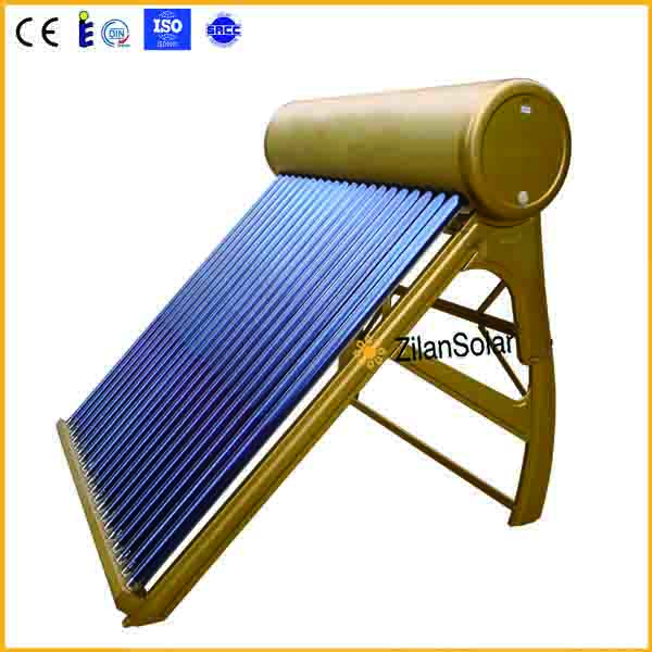 250l liters solar vacuum tube collector passitive solar water heater systems home depot