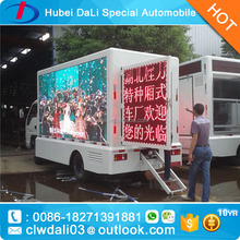 4X2 Forland sino HOWO JMC JAC dognfeng public campaign LED advertising trucks