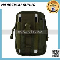 Military Waist Pack Expanded Molle Bag Small Tactical Mobile Phone Waist Bag