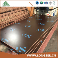 AA grade 18mm film faced plywood for construction