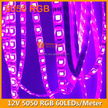 300leds/roll rgb led strip+IR Remote controller 44keys+12V 5A power adaptor lighting kit