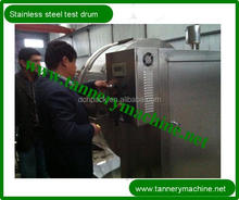 Tannery machinery stainless steel drum for alligator leather processing