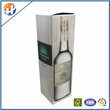 Wholesale corrugated cardboard gift boxes for wine bottle