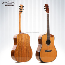 Solid Cedar 41 inch Acoustic Guitar Manufacturer Oriental Cherry