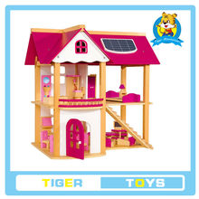 Wooden Children educational Toy-Wooden Doll house-play toy house