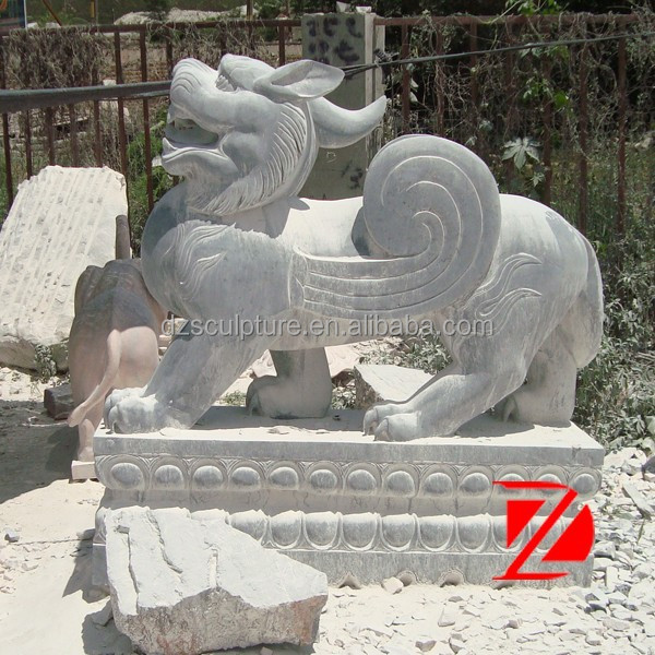 Black Stone Chinese Dragon Garden Statues For Decoration