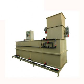 high efficient PAM powder dosing system for Water treatment disinfectant
