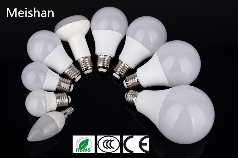 15W E27 A80 high power energy saving white led lighting bulb