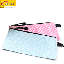 Child school stationery pink cute soft receive pen case pencil bag