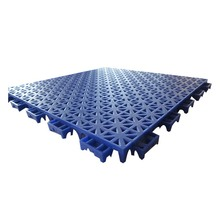 Outdoor futsal interlocking plastic floor tiles with high quality