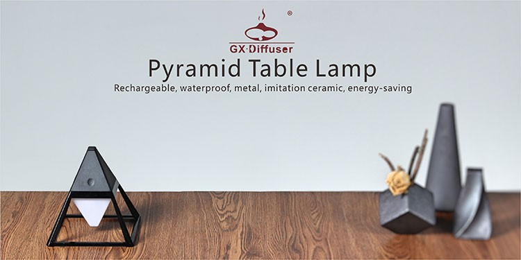 Removable 6000mA touch / wooden table lamp/LED light/garden lamp
