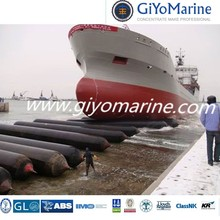 hot sales multi layers water engineering inflatable marine natural rubber airbag