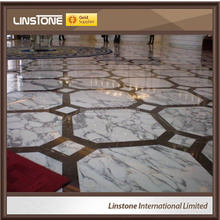 Hot Sale Italian White Arabescato Marble Bathroom Tiles For Wall And Floor