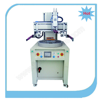 High precison one color carousel screen printing machine