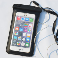 china supplier PVC waterproof bag for samsung galaxy and Apple iphones for swimming diving