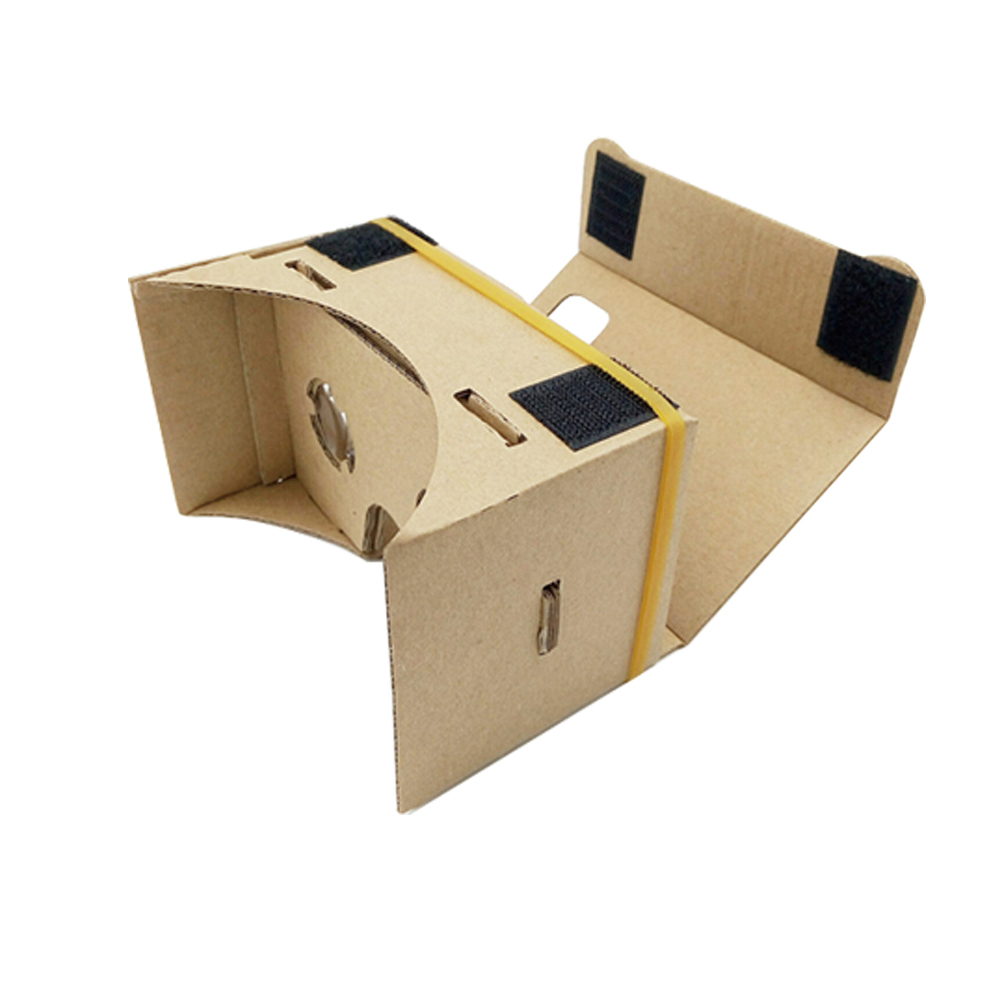 Cheap price foldable vr glasses cardboard 3d paper glasses vr headset for 3D video and games