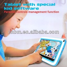 7 inch Android 4.2 Dual Core Children Kids Tablet 800x480 pixelsTFT capacitive A23 dual cor RAM 512G