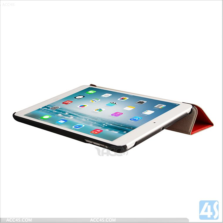 Premium Smart Case for Apple iPad Mini 2 Front & Back Protective Case Stand Cover P-IPDMINIiiCASE006